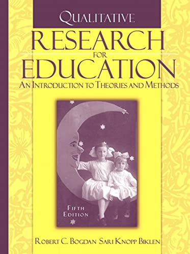 9780205482931: Qualitative Research for Education: An Introduction to Theories And Methods