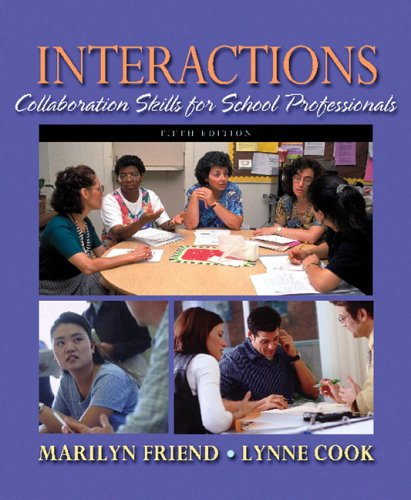 9780205483518: Interactions: Collaboration Skills for School Professionals (5th Edition)