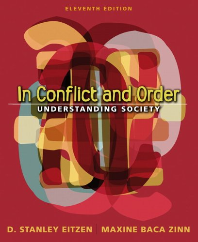 9780205484942: In Conflict and Order: Understanding Society