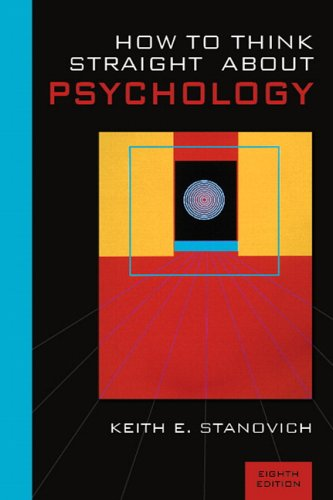 9780205485130: How To Think Straight About Psychology (8th Edition)
