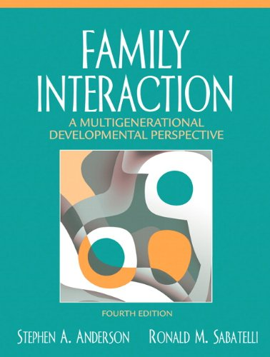 9780205485475: Family Interaction: A Multigenerational Developmental Perspective (4th Edition)