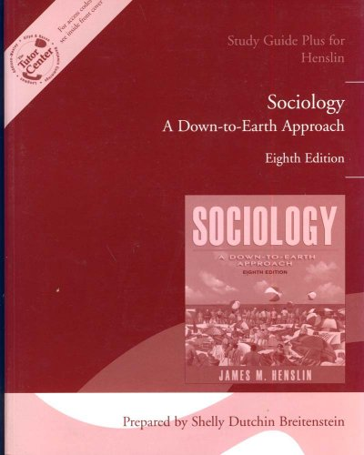 9780205486144: Study Guide for Henslin Sociology: A Down-to-Earth Approach