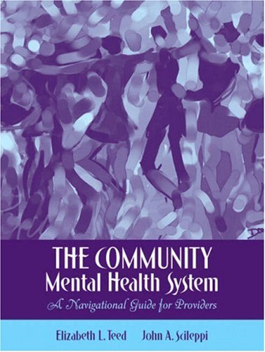 9780205486656: The Community Mental Health System: A Navigational Guide for Providers