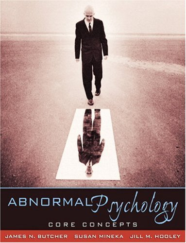 9780205486830: Abnormal Psychology: Core Concepts
