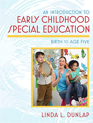 9780205488728: An Introduction to Early Childhood Special Education: Birth to Age Five