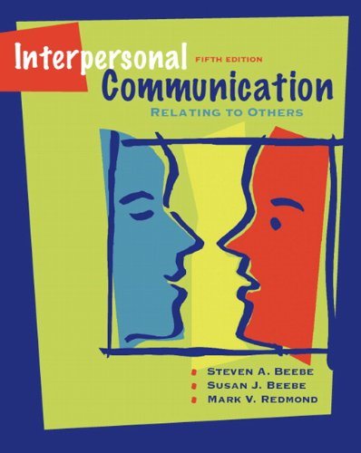 9780205488797: Interpersonal Communication: Relating to Others (5th Edition)