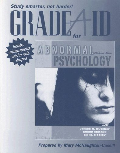 9780205489008: Grade Aid Workbook for Abnormal Psychology