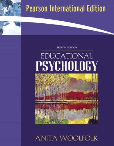 9780205489510: Educational Psychology (Book Alone): International Edition
