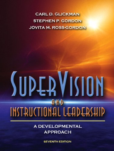 9780205489534: SuperVision and Instructional Leadership: A Developmental Approach (7th Edition)