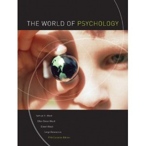 9780205490165: The World of Psychology with Study Guide