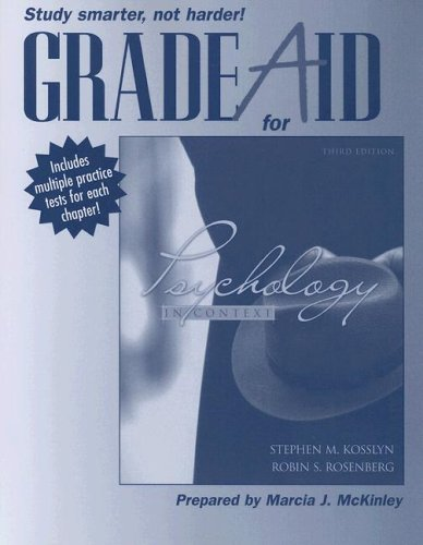 9780205490820: Grade Aid Workbook with Practice Tests