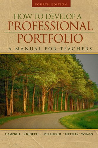 9780205491001: How to Develop a Professional Portfolio: A Manual for Teachers (4th Edition)
