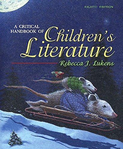 9780205492183: A Critical Handbook of Children's Literature (8th Edition)