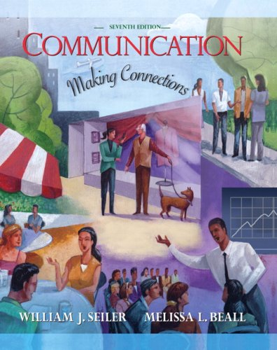 9780205493340: Communication: Making Connections (7th Edition)