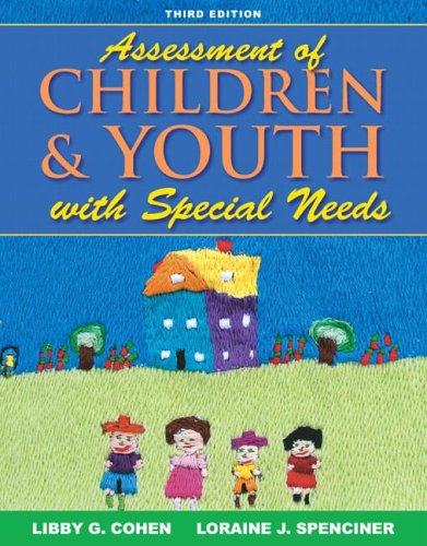 9780205493531: Assessment of Children and Youth with Special Needs (3rd Edition)