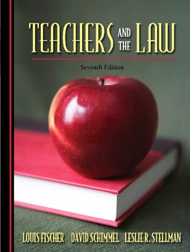 9780205494958: Teachers and the Law (7th Edition)