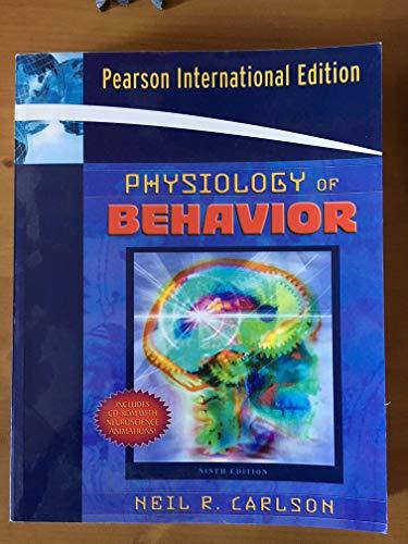 9780205496921: Physiology Of Behavior, 9Th Ed.