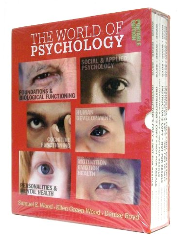 9780205497508: World of Psychology: Portable Edition