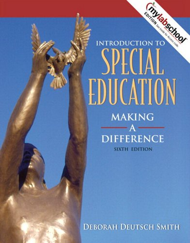9780205498055: Introduction to Special Education: Making a Difference (with MyLabSchool) (6th Edition)