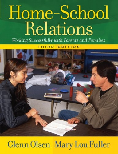 9780205498406: Home-School Relations: Working Successfully with Parents and Families (3rd Edition)