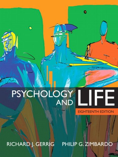 9780205498468: Psychology and Life (MyPsychLab Series)