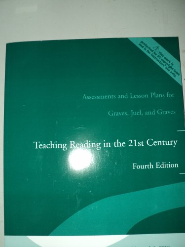 Assessments and Lesson Plans for Teaching Reading: Michael Graves, Robert