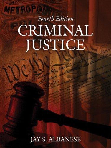 9780205499090: Criminal Justice (4th Edition)