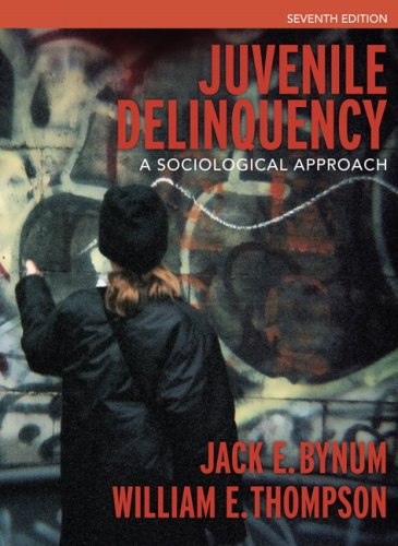 9780205499113: Juvenile Delinquency: A Sociological Approach