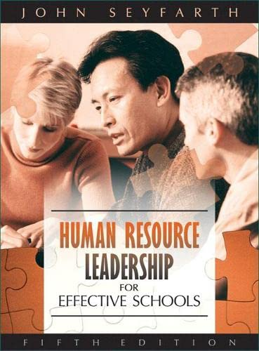 9780205499298: Human Resource Leadership for Effective Schools (5th Edition)