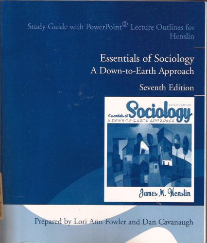 Essentials of Sociology A Down to Earth: Henslin, James M.