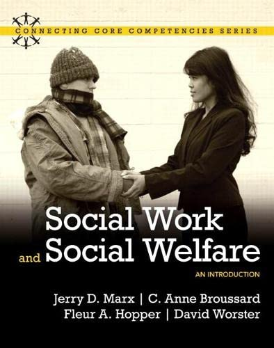 Social Work and Social Welfare: An Introduction: MARX