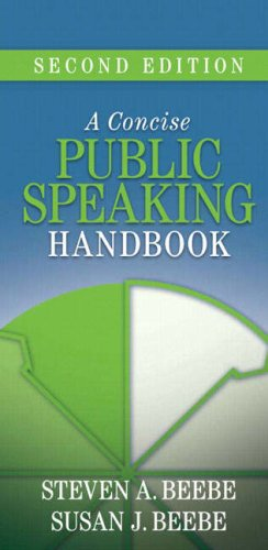9780205502448: Concise Public Speaking Handbook, A (2nd Edition)