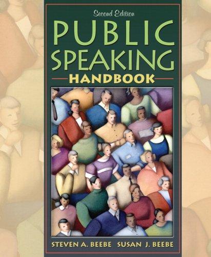 9780205502967: Public Speaking Handbook (2nd Edition)
