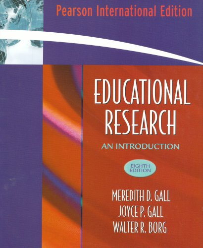 9780205503452: Educational Research: An Introduction: International Edition