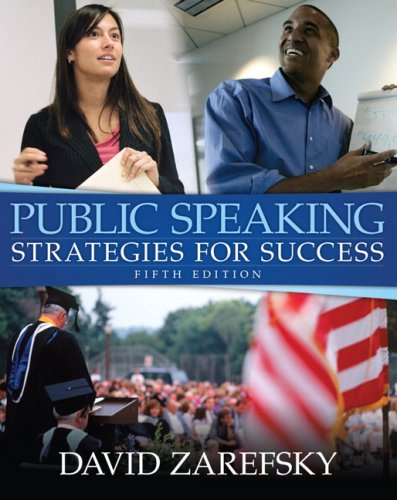 9780205504053: Public Speaking: Strategies for Success (5th Edition)