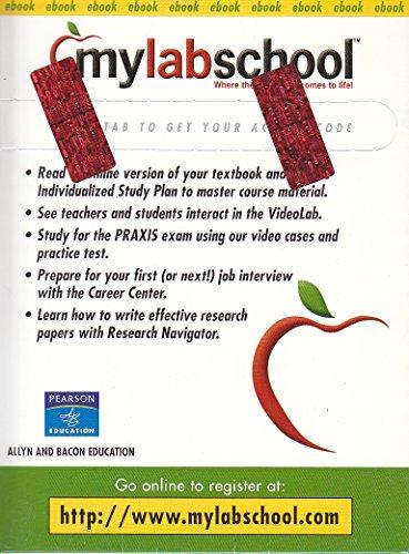 9780205505081: Mylabschool: Online Access Card