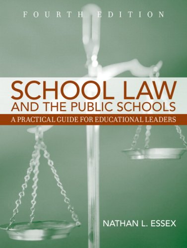 9780205508167: School Law and the Public Schools, 4th Edition