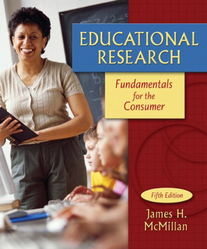 9780205508303: Educational Research: Fundamentals for the Consumer (5th Edition)