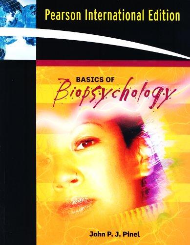 9780205508891: Basics of Biopsychology (Book Alone): International Edition
