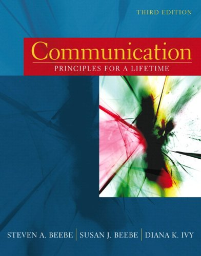 9780205508938: Communication: Principles for a Lifetime (with MySpeechLab) (3rd Edition)