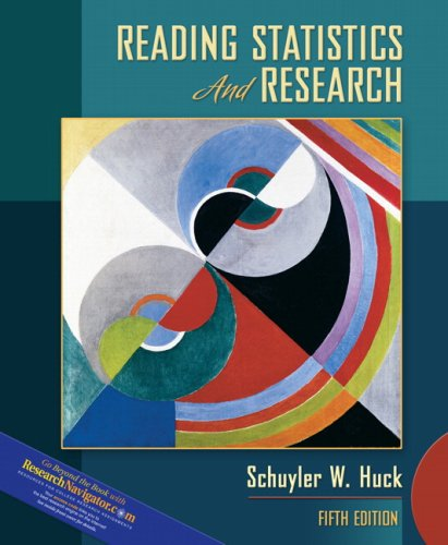 9780205510672: Reading Statistics and Research