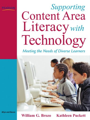 Supporting Content Area Literacy with Technology Format: Paperback
