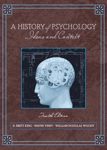 9780205512133: A History of Psychology: Ideas and Context