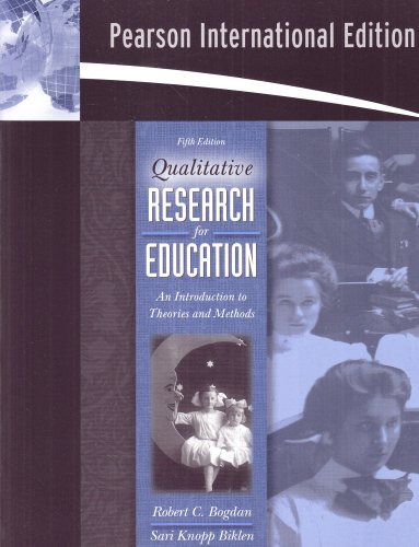 9780205512256: Qualitative Research for Education: An Introduction to Theories and Methods