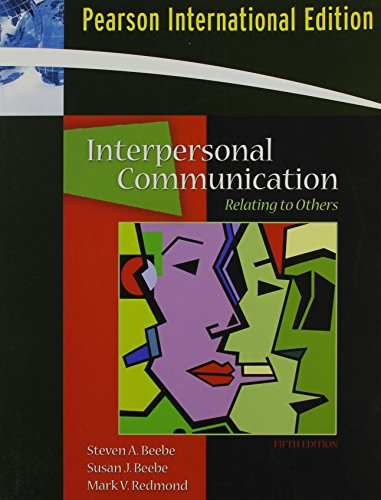 9780205517169: Beebe:Intpers Communication PIE _p5