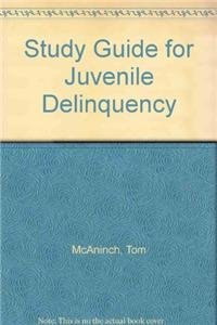 9780205520381: Study Guide for Juvenile Delinquency