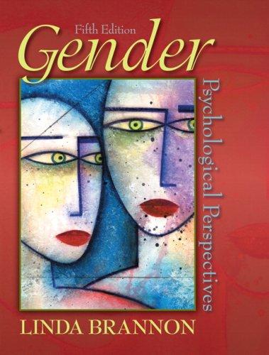 9780205521142: Gender: Psychological Perspectives (5th Edition)