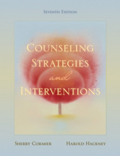9780205521630: Counseling Strategies and Interventions