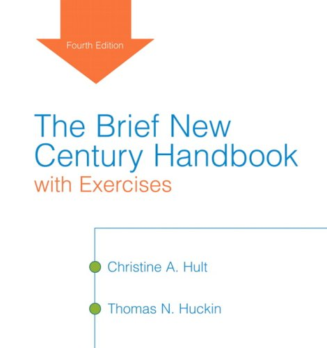 9780205521999: The Brief New Century Handbook with Exercises (4th Edition)