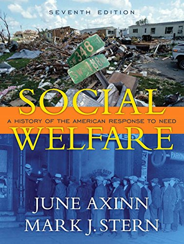 9780205522156: Social Welfare: A History of the American Response to Need (7th Edition)